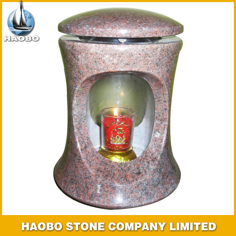 Red Granite Lamps for Gravestone HBL005