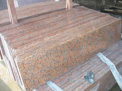 Red Granite Stone Windowsill