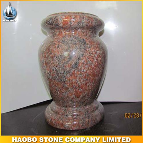 Red Granite Vase