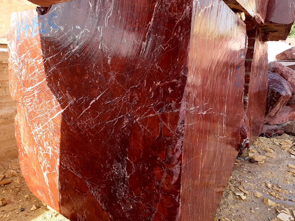 Red Jasper Marble Blocks Natural Marble Blocks