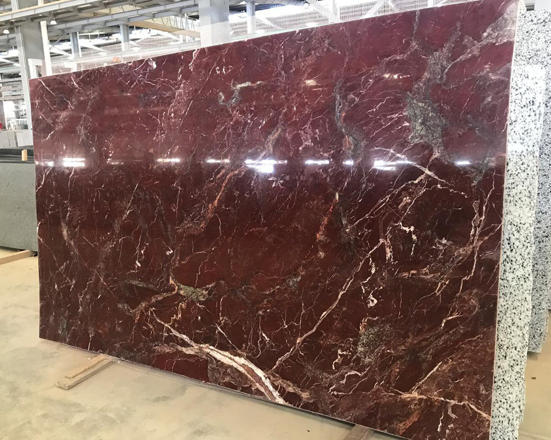 Red Jasper Marble Slabs Polished Red Stone Slabs