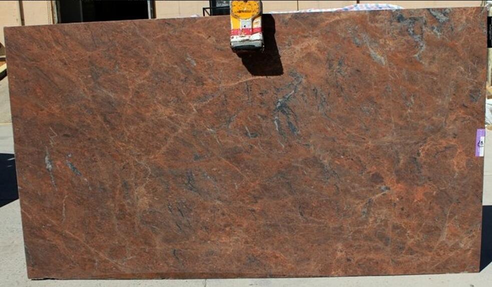 Red Malibu Granite Slabs Leather Granite Stone Slabs for Countertops
