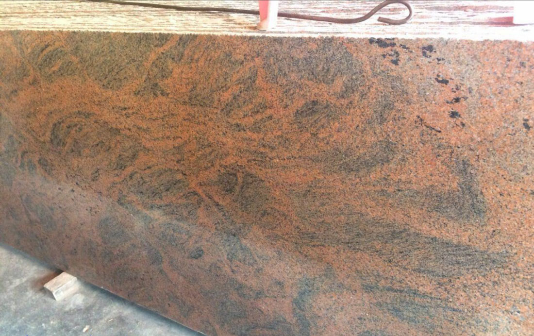 Red Polished Granite Countertops