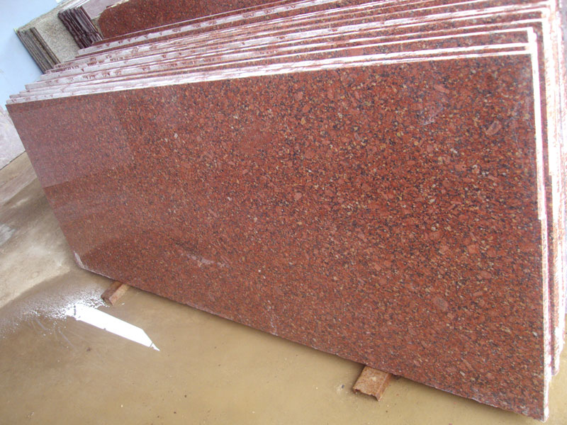 Red Rube Granite Slabs Polished Indian Granite Slabs