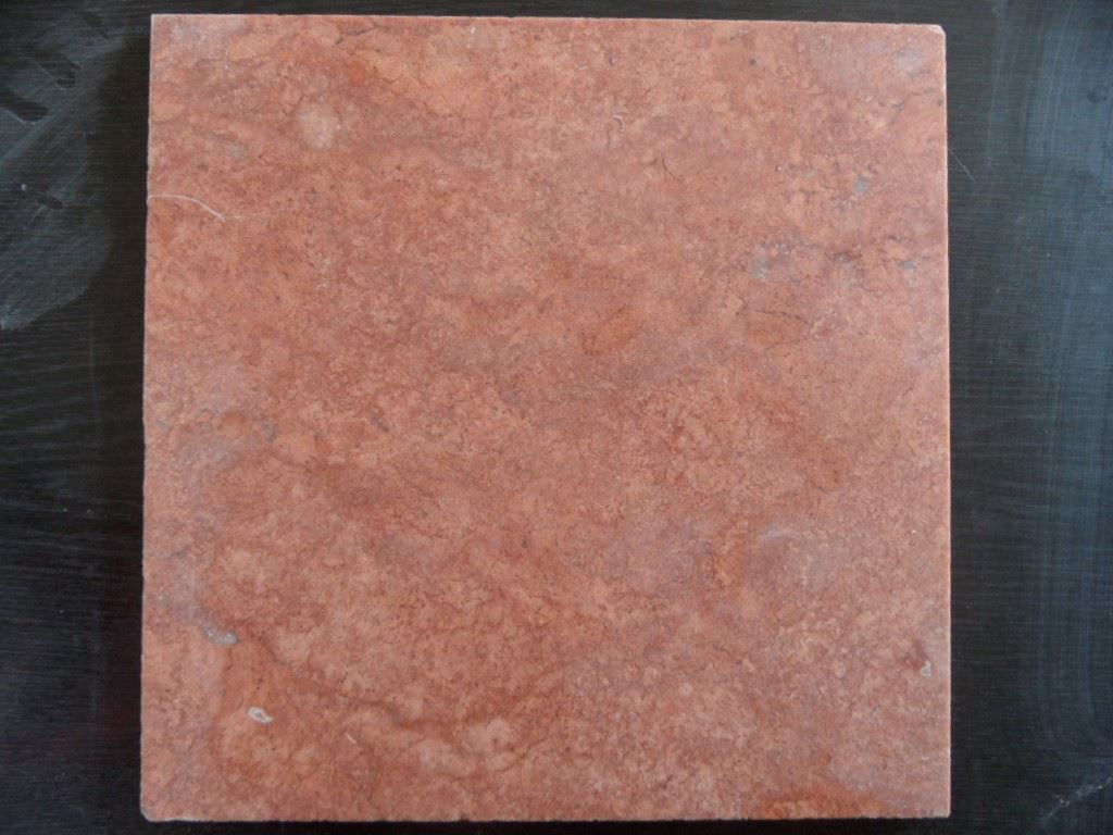 Red Travertine Tiles Flooring Stone Tiles from Turkey