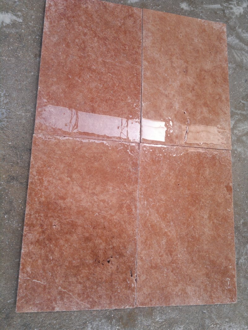 Red Travertine Tiles Polished Travertine Floorig Stone Tiles
