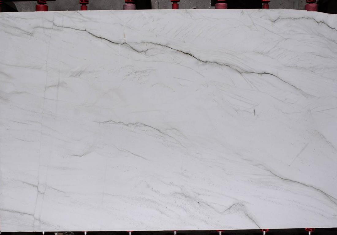 Rio Blanc Quartzite Slab White Brazil Quartzite Stone Slabs