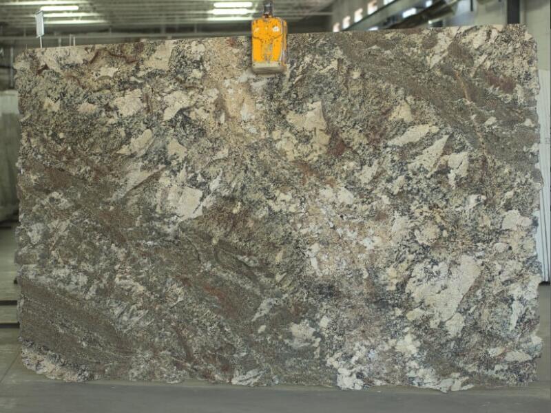 River Bourdeux 2cm Granite Stone Slabs for Kitchen Countertops