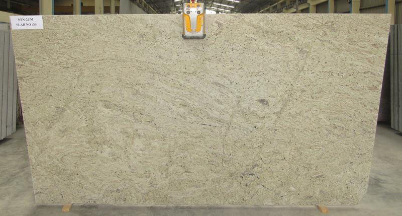 River Gold Granite Slabs Polished Granite 2cm