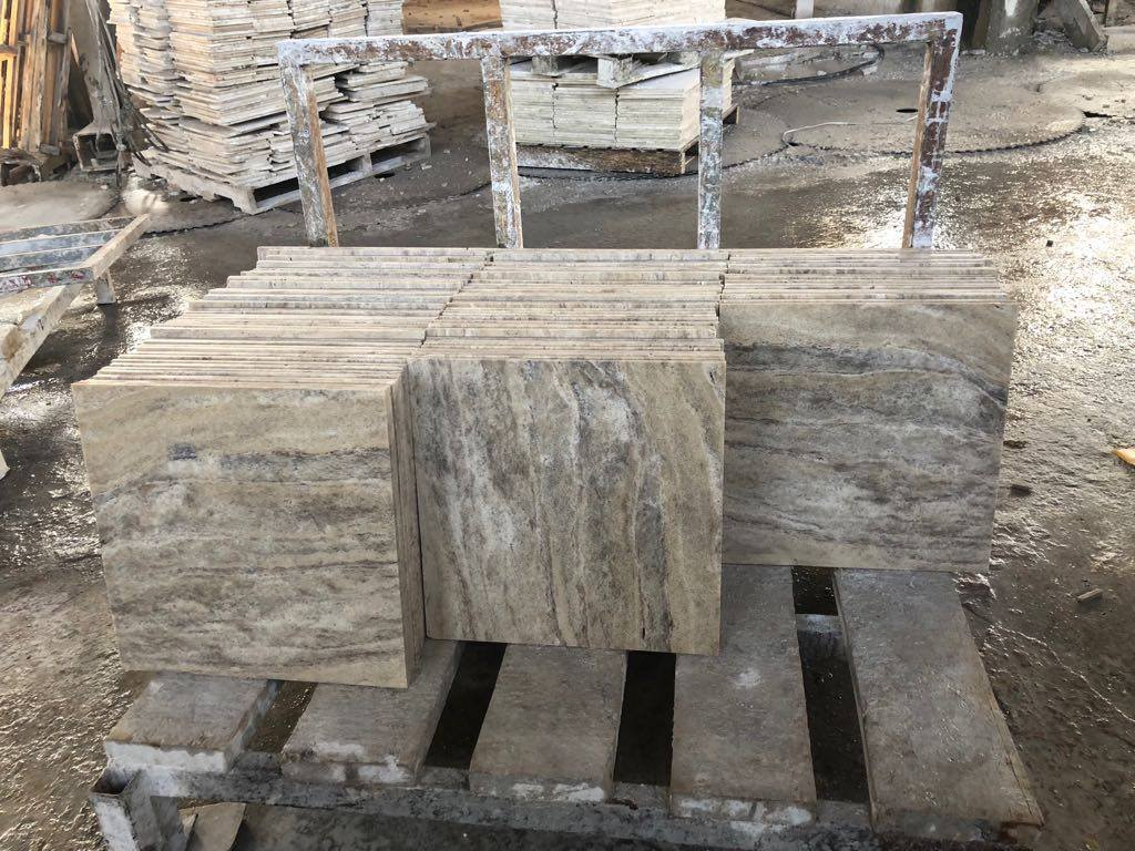River Travertine Tiles with High Quality for Flooring