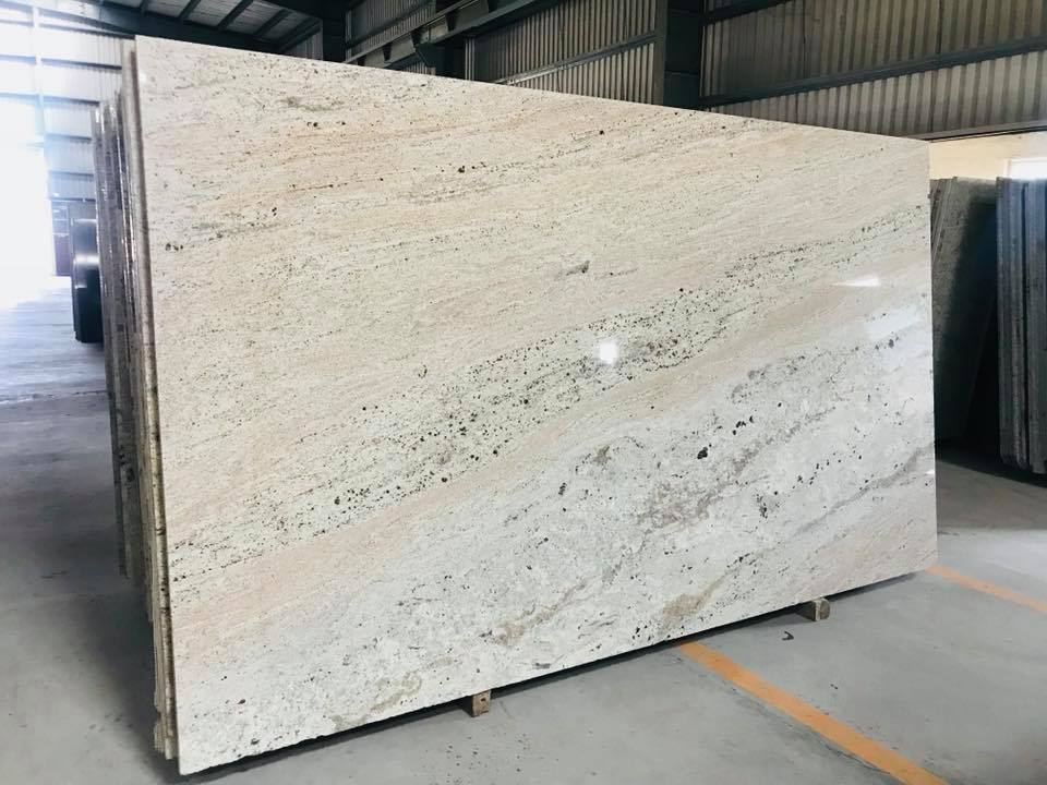 River White Granite Slabs