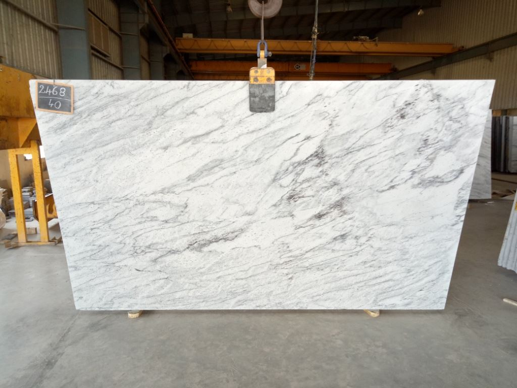 River White Granite White Granite Slabs
