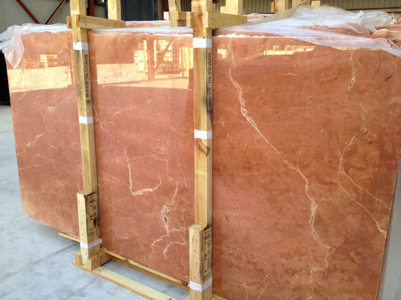 Rojo Alicante Marble Polished Slabs Red Marble Stone Slabs