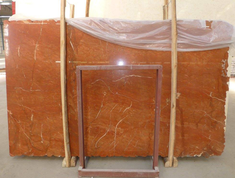 Rojo Alicante Marble Slab Polished Red Marble Slabs