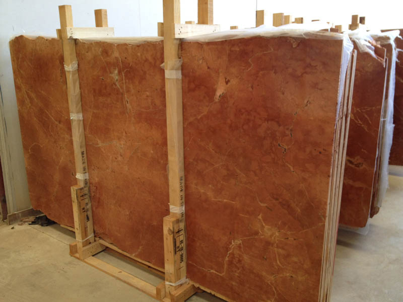 Rojo Alicante Marble Slabs Polished Red Stone Marble Slabs