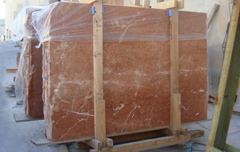 Rojo Alicante Marble Slabs Spain Red Polished Marble Stone Slabs