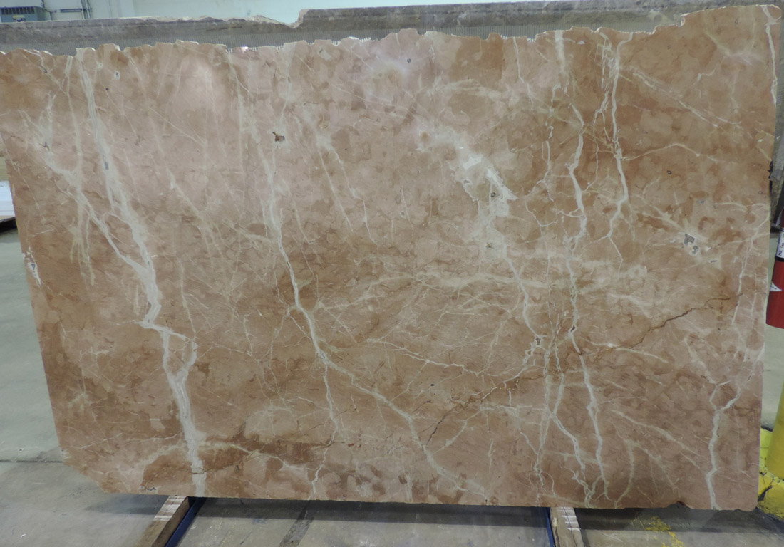 Rojo Alicante Marble Stone Slabs Polished Beige Marble Slabs