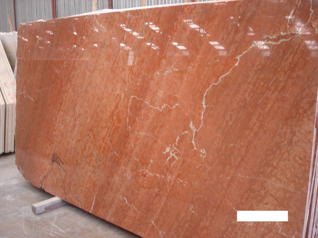 Rojo Alicante Spain Red Polished Marble Slabs