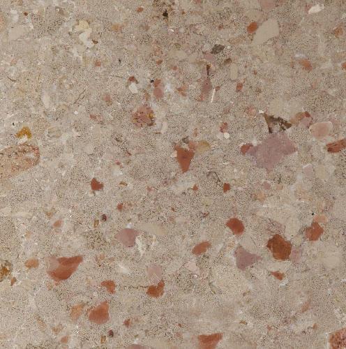 Rojo Brechado Limestone