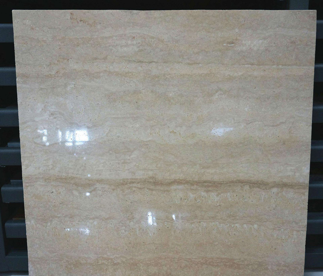 Roman Travertine Tiles Polished Beige Travertine Tiles