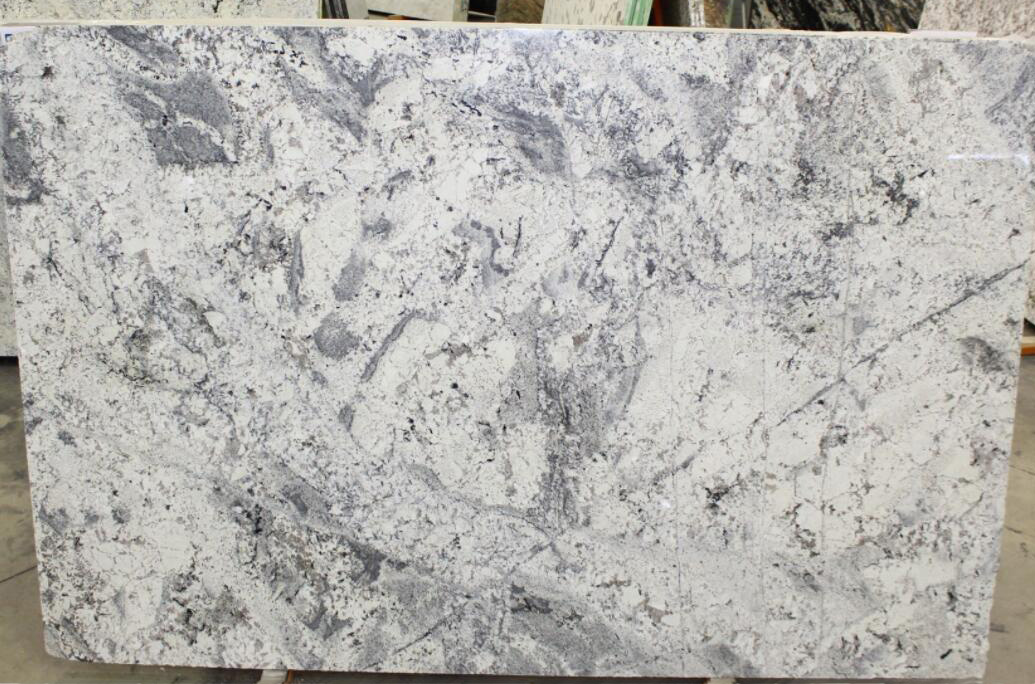 Romanix White Granite Slabs Polished Granite Stone-Slabs