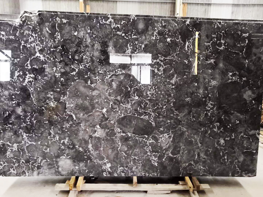 Romantic Gray Polished Grey Marble from China Supplier