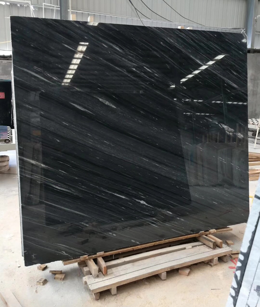 Romantic Grey Marble Slabs Polished Marble Stone Slabs