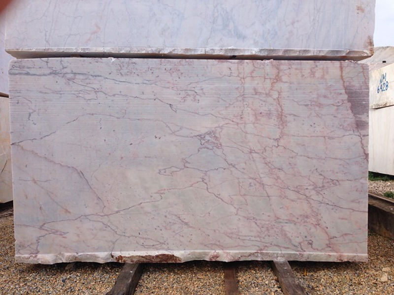 Rosa Aurora Marble Blocks Portugal Beige Marble Blocks