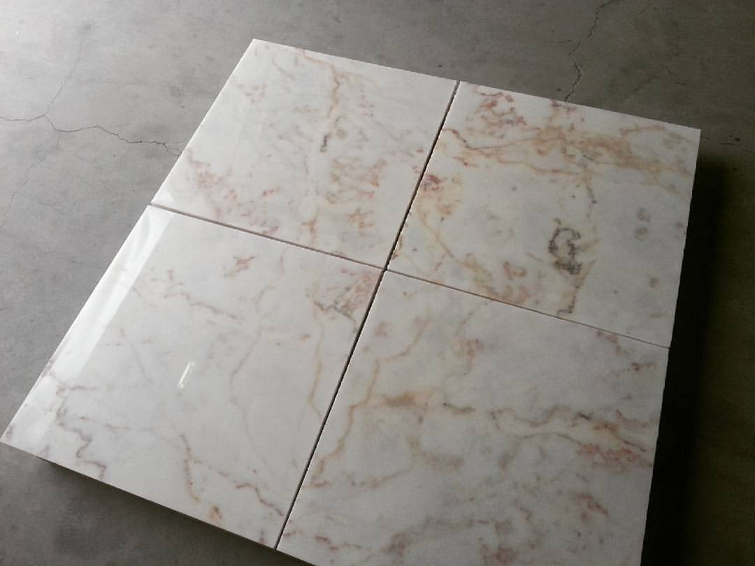Rosa Aurora Tiles Polished Marble Tiles with High Quality
