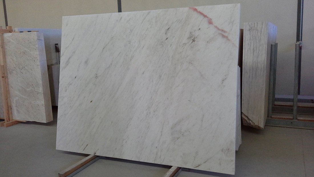 Rosa Bianca Marble Slabs from Portugal