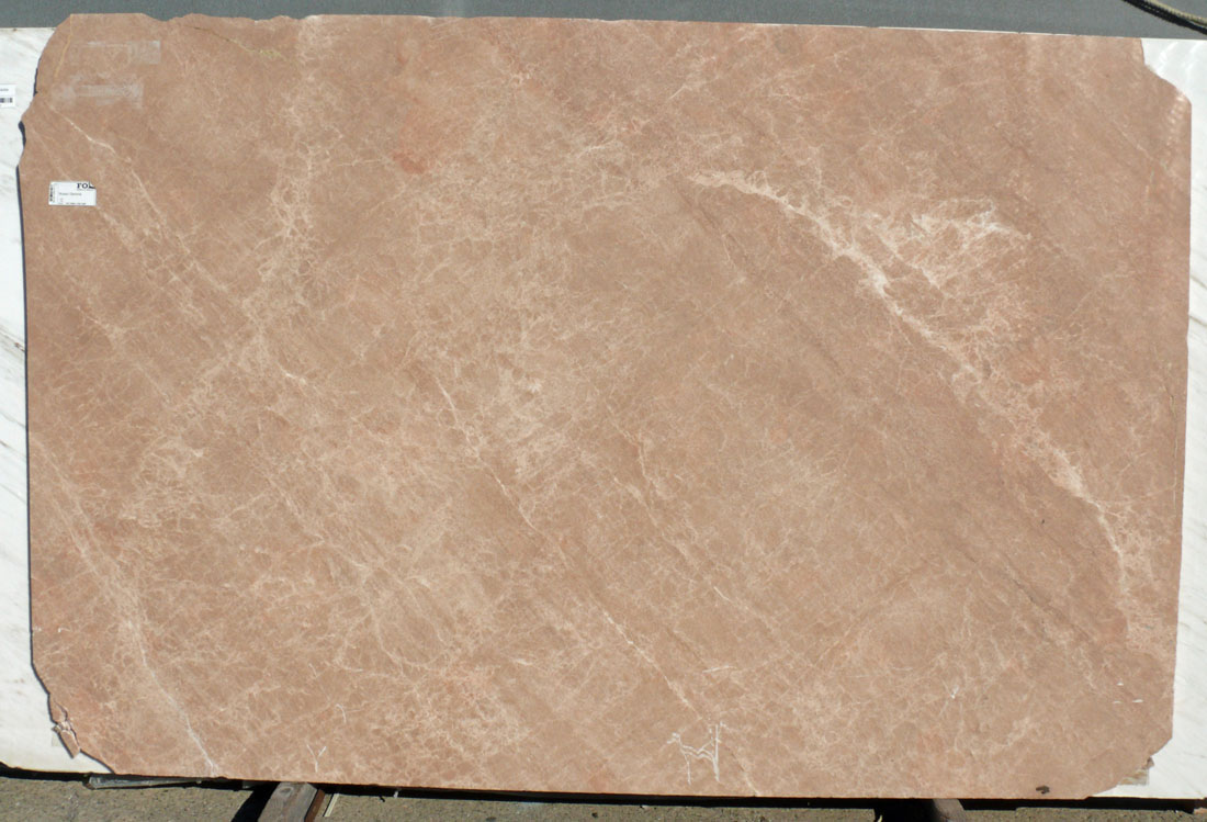 Rosa Gerona Marble Slab Beige Polished Slabs from Spain