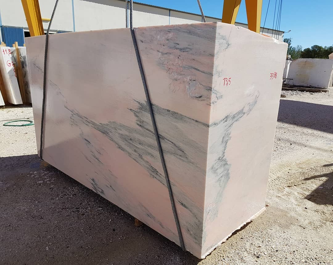 Rosa Marble Blocks Portugal Pink Marble Blocks