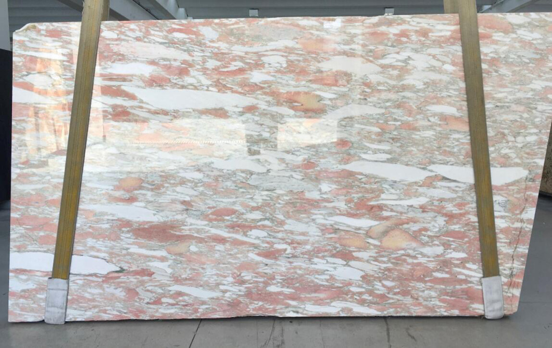 Rosa Norwage Marble Slabs Polished Pink Marble Stone Slabs