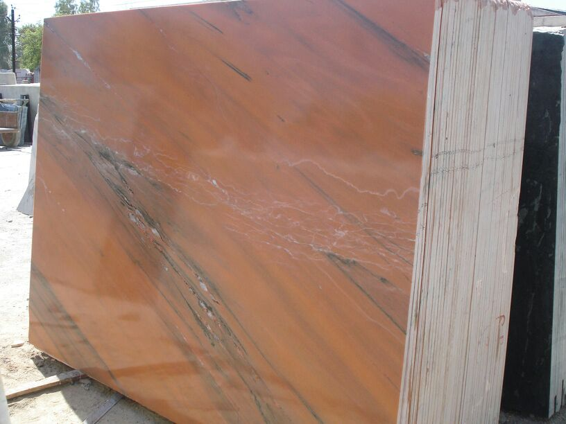 Rosa Pink Slabs Indian Polished Marble Slabs