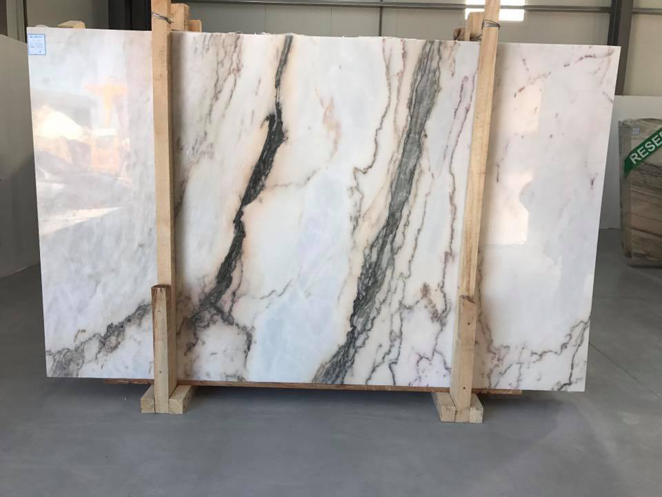 Rosa Portogallo Marble Slabs Polished White Marble Slabs