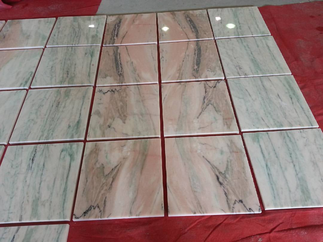 Rosa Portugal Green Luxury Marble Tiles Polished Marble Tiles