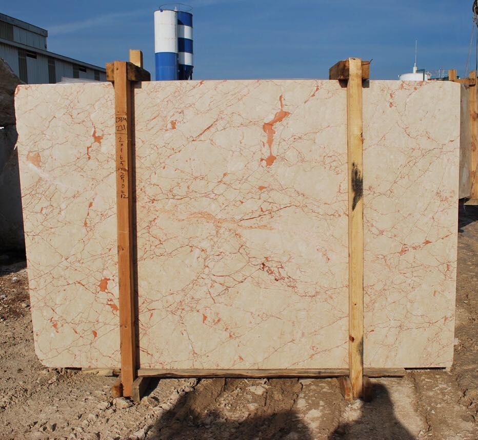 Rosalia Beige Marble Slab Turkish Beige Stone Slabs