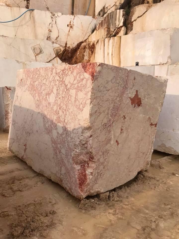 Rosalia Beige Marble Stone Blocks