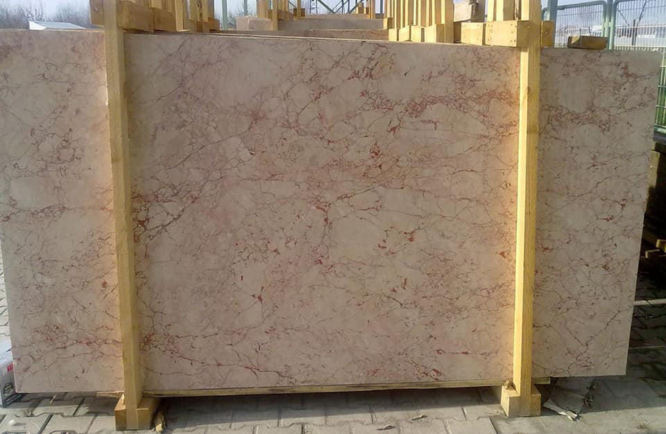 Rosalya Pink Marble Polished Marble Slabs from Turkey