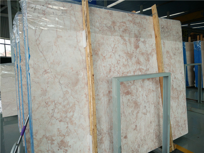 Rose Cream Marble Slabs Chinese Beige Marble Slabs