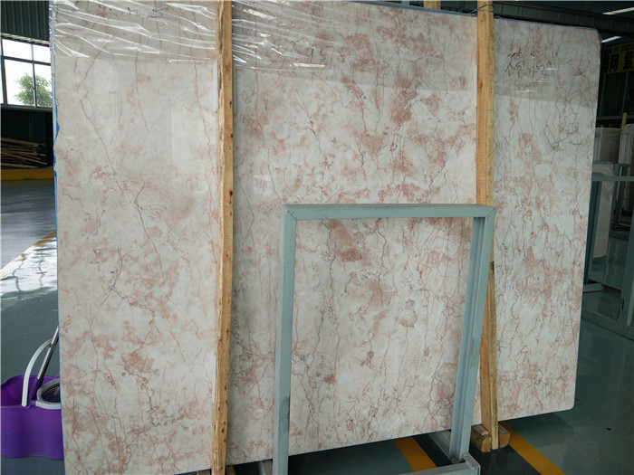 Rose Cream Marble Slabs