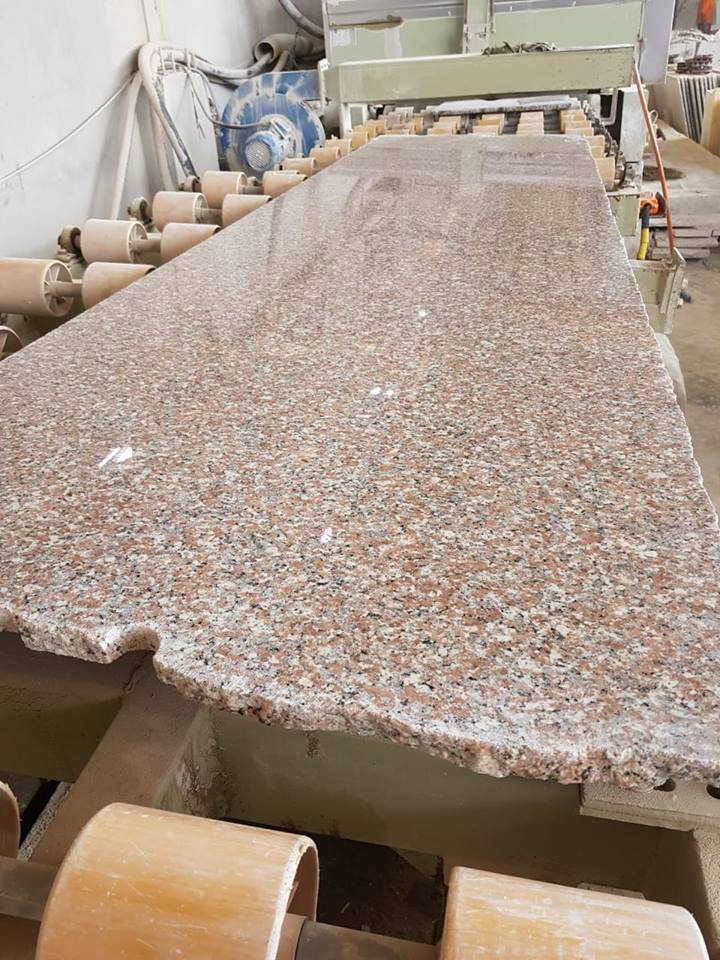 Rose El Naser Granite Pink Granite Slabs