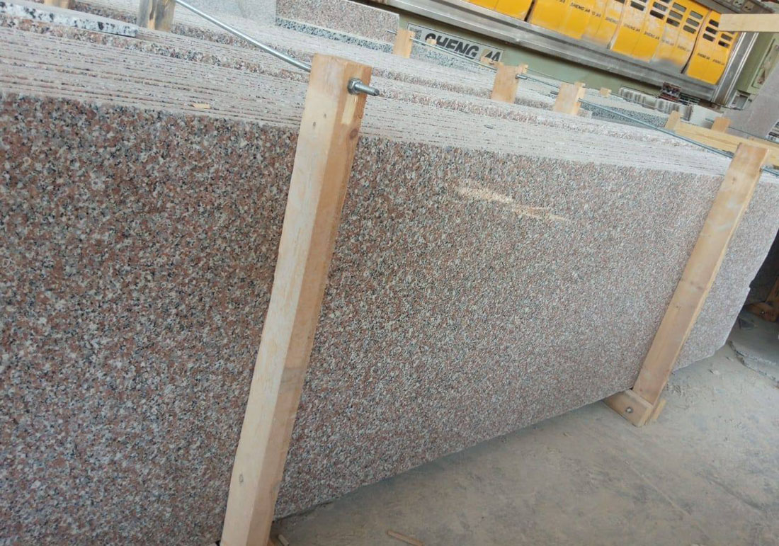 Rose El Naser Granite Slabs Polished Pink Granite Slabs