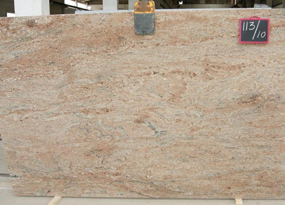 Rosewood Granite Polished Pink Granite Slabs