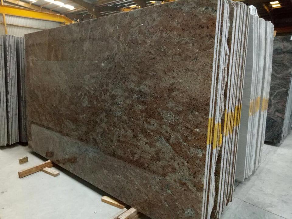Rosewood Granite Slabs Polished Granite Slabs from India