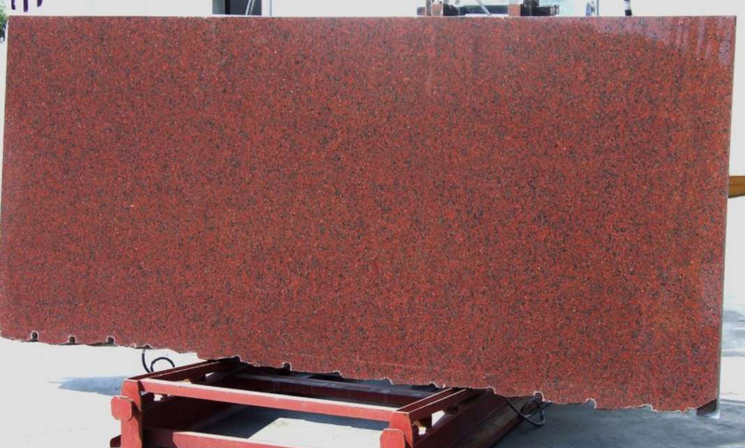 Rosso Africa Granite Red Polished Granite Slabs