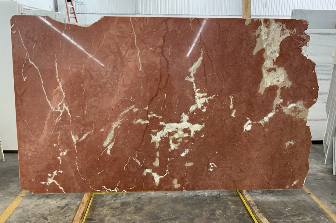 Rosso Alicante Marble Slabs Polished Red Marble Slabs