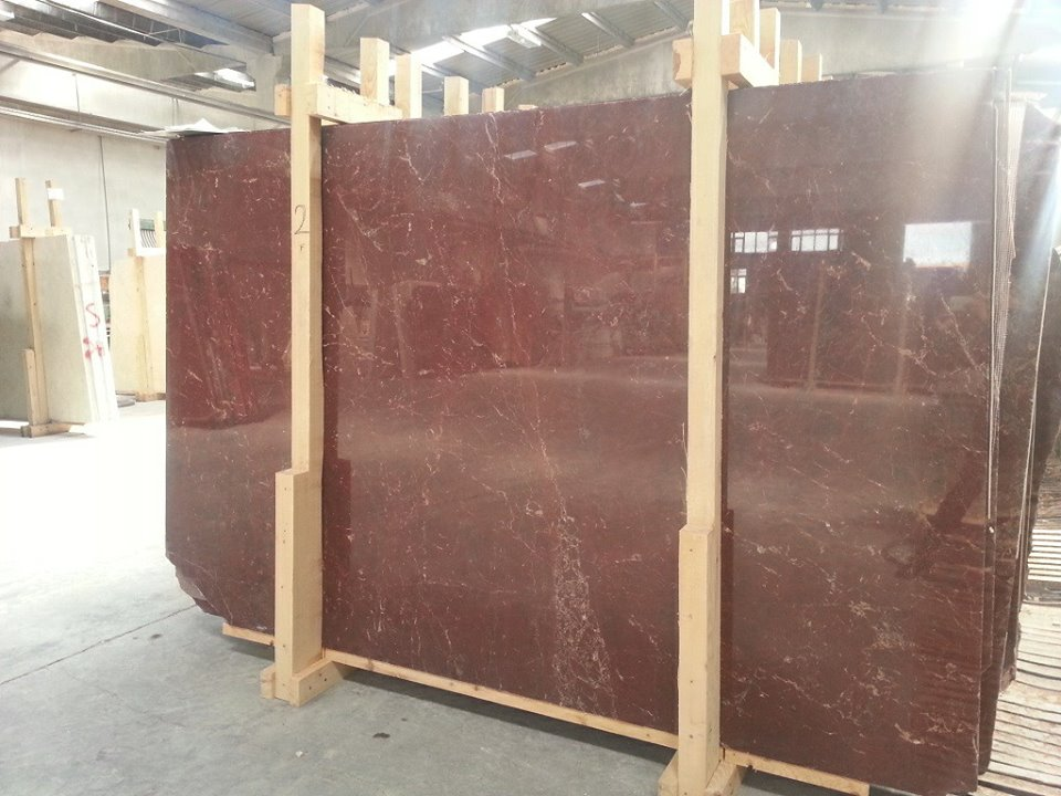 Rosso Anatolico Marble Slabs Red Polished Marble Slabs