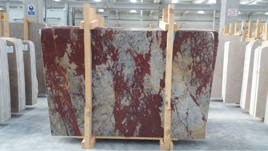 Rosso Anatolico Marble Slabs Turkish Red Marble Slabs