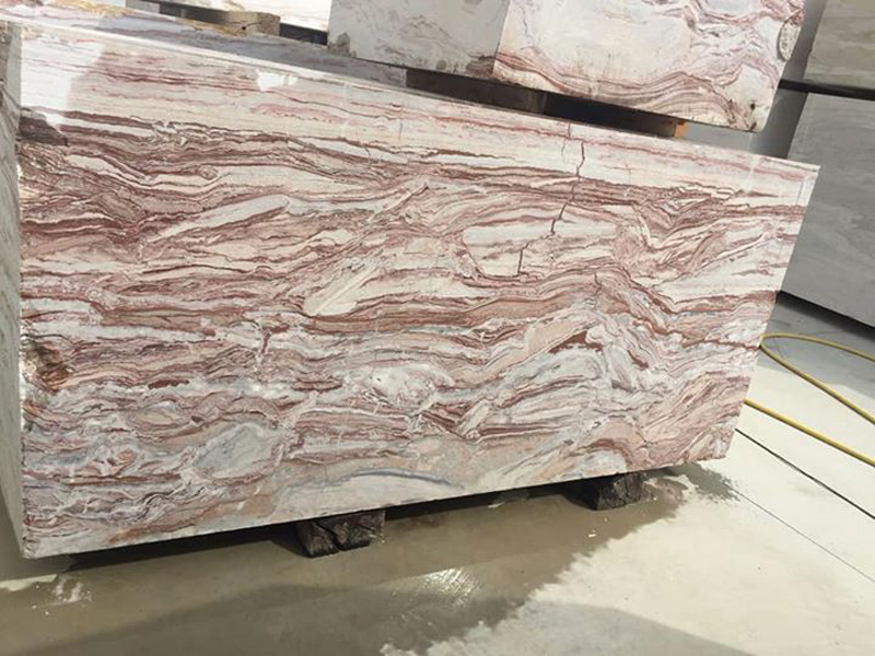 Rosso Arobico Marble Slabs Pink Marble Slabs